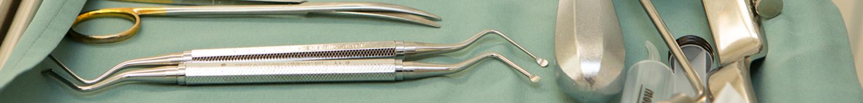 des instruments de dentiste