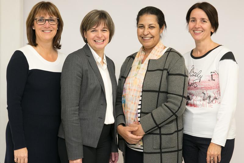 Sylvie-Louise Avon, Cathia Bergeron, Fatiha Chandad et Carole Martinez