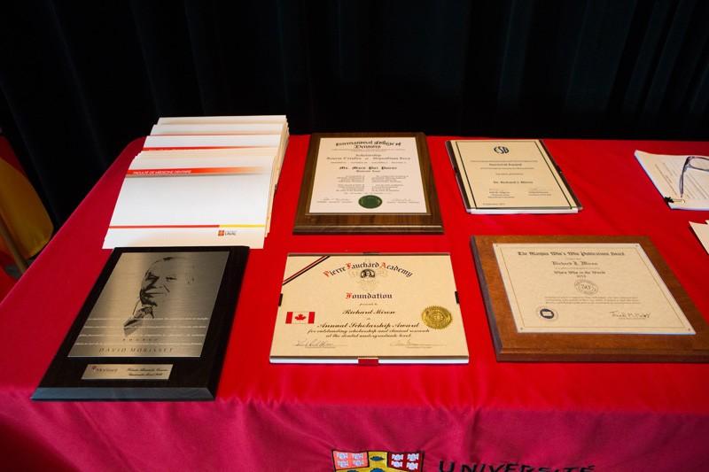 Quelques prix remis à la Soirée des prix d'excellence de 2014