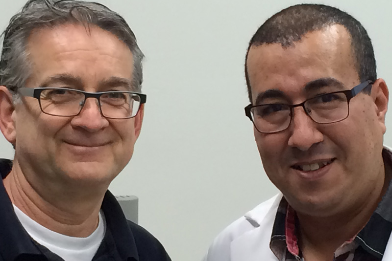 Daniel Grenier et Jabrane Azelmat