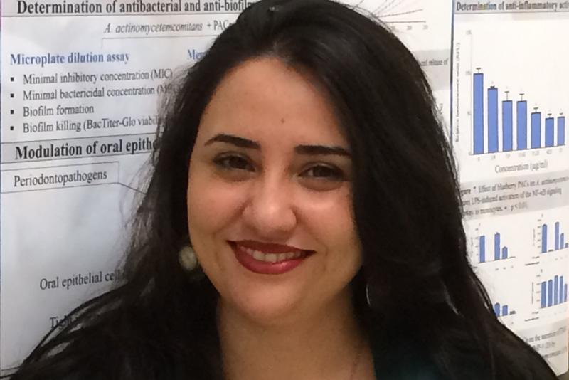L'étudiante boursière Amal Ben Lagha