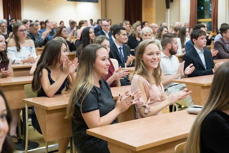 étudiants de la cohorte 2017-2021