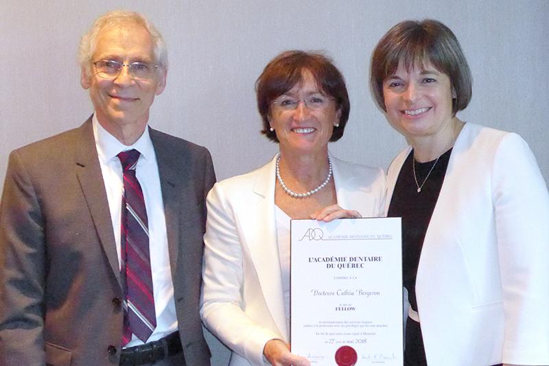 Drs Fournier, Claire Deschamps et Bergeron