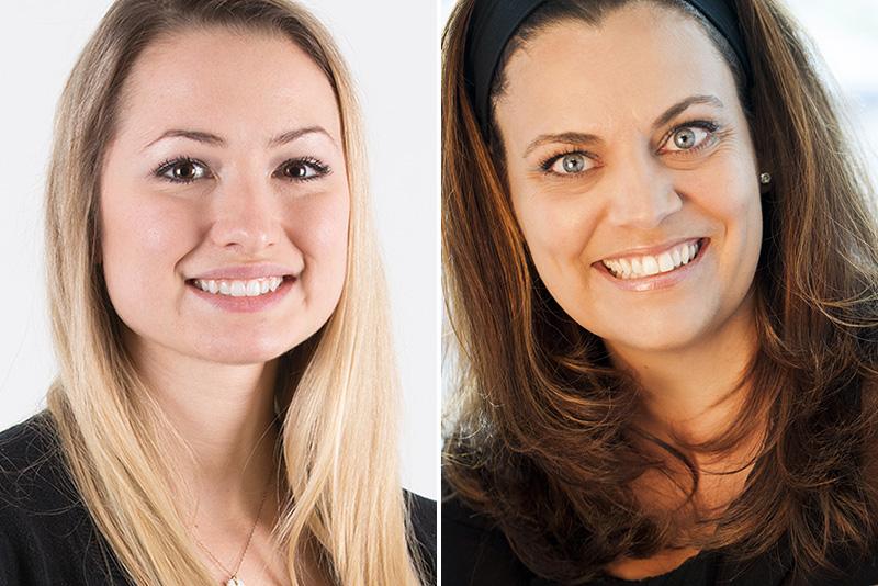 les docteures Annik Pelletier et Annie-Claude Valcourt